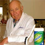 Dr. Don Atkins, inventor of Swedry® DRYCARPET™ Carpet Cleaner