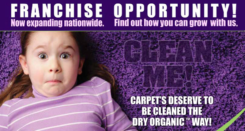 Carpet Cleaning Franchise Opportunity